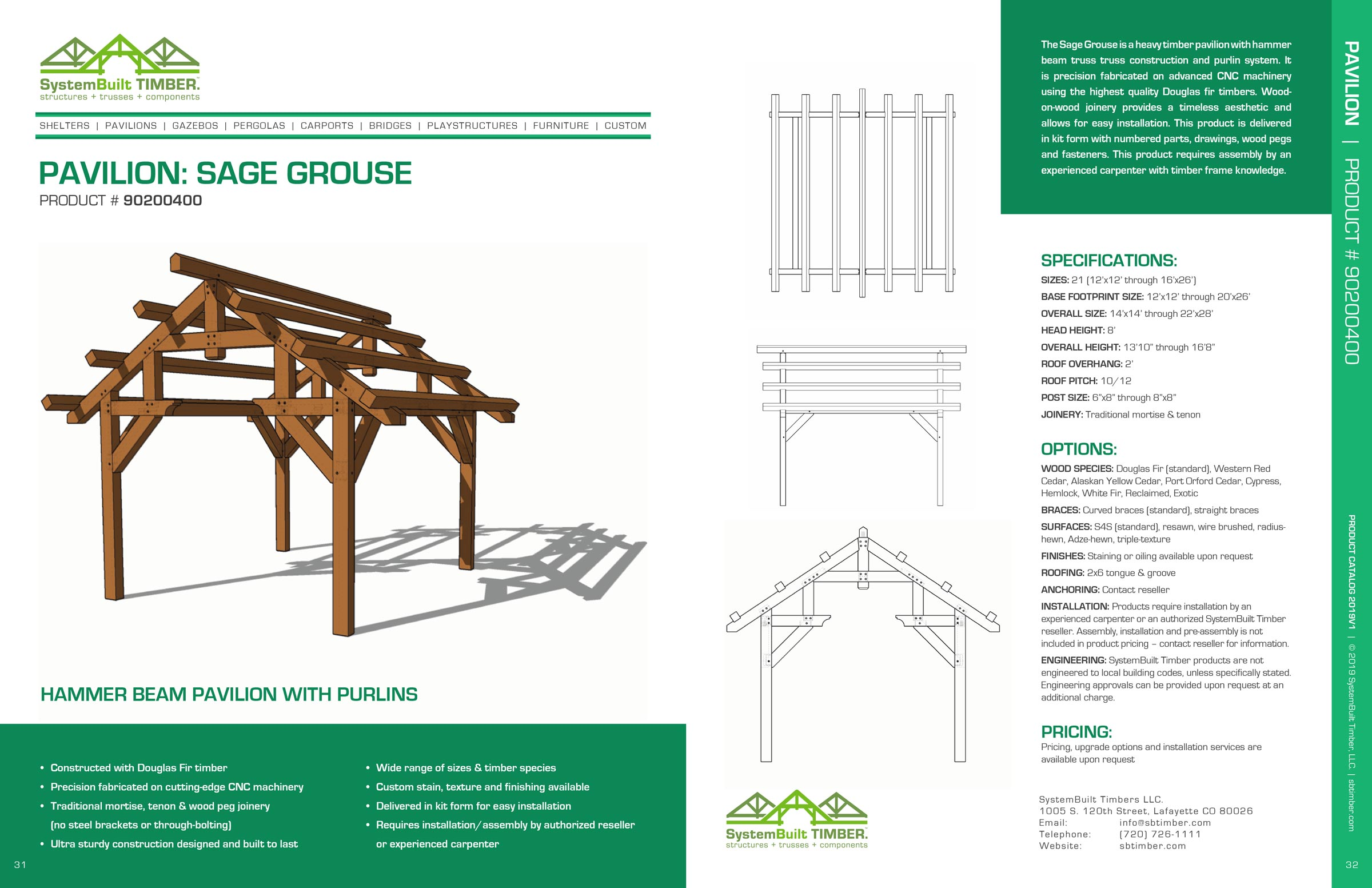 Pavilions – SystemBuilt Timber