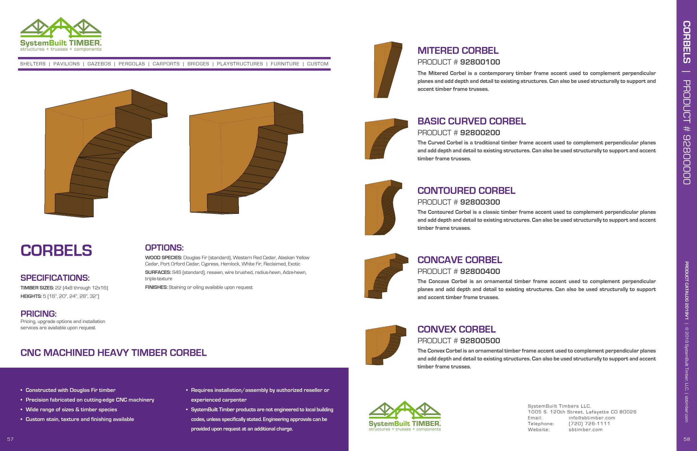 Corbels - SystemBuilt Timber
