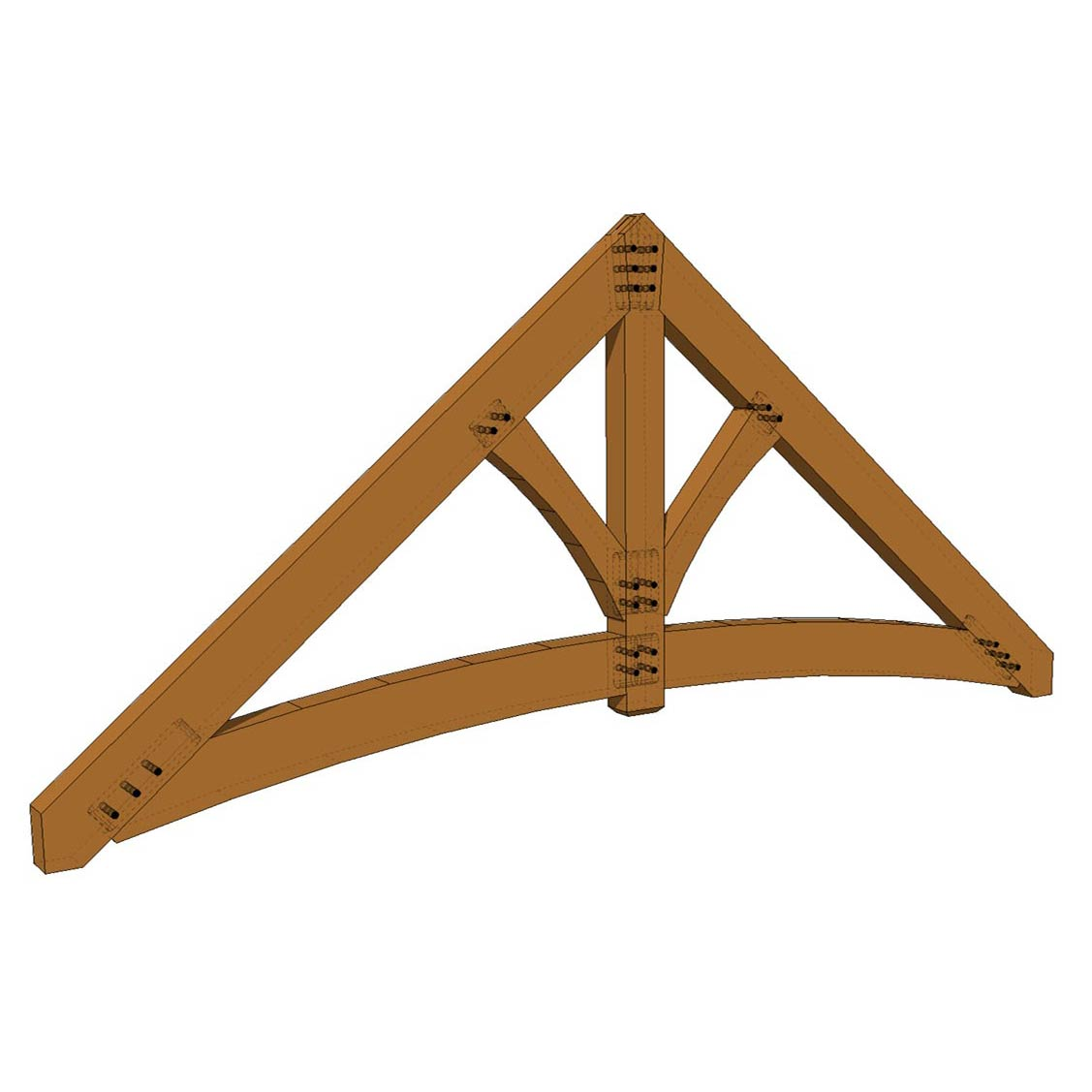 Truss: Arched King Post